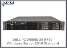 Dell PowerEdge R710 XEON E5640 2.66Ghz 24GB DDR3 PERC6i Server 2016 Standard COA