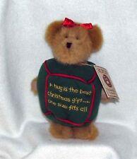 Christmas Boyds Bears Plush - Huggles (2004 Retired) New!
