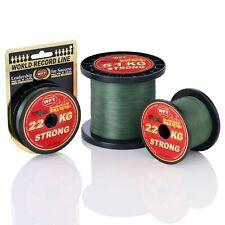 (0,20€/m) WFT KG Strong Schnur Geflochten Angelschnur grün 300m verschiedene Stä