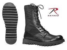 Rothco 5050 Black Ripple Sole Jungle Boots