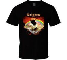 Rainbow Rising Rock N Roll Heavy Metal Music Band T Shirt