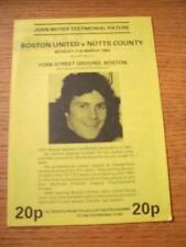21/03/1983 Boston United v Notts County [John Moyes Tes