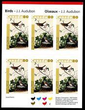 Canada 2040a Booklet 2004 Birds Paintings by John James Adubon x10955