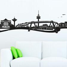 Skyline Wuppertal als Wandtattoo Wandaufkleber Wanddeko Aufkleber von Wandkings