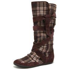 5621M stivali marroni donna KILLAH wash scarpe women boots shoes