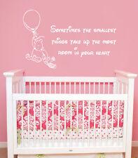 Winnie the Pooh Wall Decal Kid Quote Vinyl Sticker Nursery Baby Room Decor ZX50