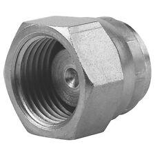 """Hydraulique femelle bsp cap avec 60 ° cône 1/8"""" à 1.1/2"""" adaptateur pompe valve plug"""
