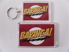 BAZINGA BIG BANG THEORY  Keyring or Fridge Magnet GIFT PRESENT IDEA