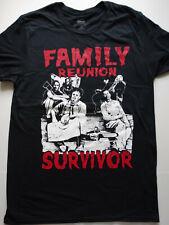 Texas Chainsaw Massacre Horror Leatherface Family Reunion Survivor T-Shirt