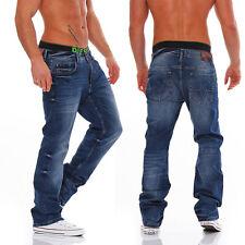 Big SEVEN-Warren-NEVADA WASH-Regular Fit-OVERSIZE-Jeans Uomo Pantaloni