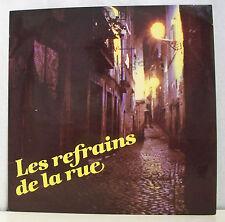 """33T REFRAINS DE RUE Disque LP 12"""" MILORD LA FOULE SEINE Orchestres - SRD 91496"""