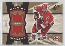 2006-07 SPx Winning Materials #WM-ES Eric Staal Carolina Hurricanes Hockey Card