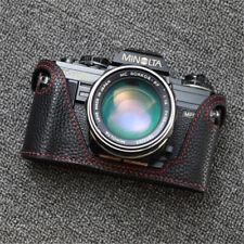 Leather Half Case for Minolta X700 X300 Camera Handmade Retro Protective Cover