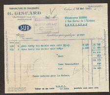 """TOULOUSE (31) USINE de CHAUSSURES """"SUD / G. GISCARD"""" en 1949"""