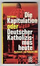 Carl Amery: Deutscher cattolicesimo oggi 1963
