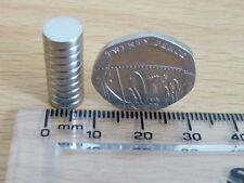 Neodymium/rare Tierra imán de disco - 8 Mm X 2mm - 10 o 20 Lotes-Muy Fuerte