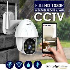 Waterproof WiFi Outdoor CCTV 1080P 2MP Wireless IP66 IP PTZ Camera Home Security