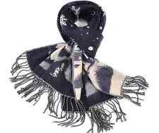 Calentadores de cuello de punto Estola De Lana De Invierno cálido Crochet chales Tassle Mujeres Bufandas