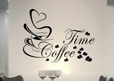 wkf32 WandTattoo Wandsticker WandSpruch CAFE COFFEE KAFFEE  KÜCHE