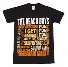 Official Beach Boys - Best Of S/S - Men's Black T-Shirt