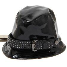 7570I cappello pioggia bimba nero BURBERRY cappelli hats kids 9e349a8c3449