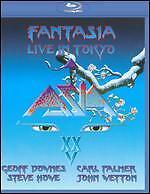 Asia - FANTASIA: LIVE IN TOKYO [25th Anniversary]  Blu-ray DVD - Brand New
