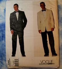 VOGUE 2383 Men's Formal Suit Jacket Pants Pattern 32-36