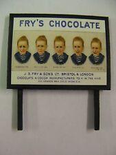 Fry's Chocolate - Model Railway Billboard - N, OO & O Gauge