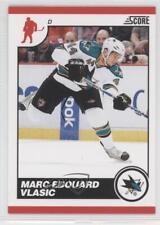 2010-11 Score #404 Marc-Edouard Vlasic San Jose Sharks Hockey Card