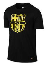 Barcellona Barcelona Nike T-shirt tempo libero 2016 Nero 100% cotone Uomo