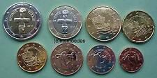 Zypern Euro KMS alle 8 Euromünzen 1 Cent bis 2 Euro coin Prägejahr nach Wahl