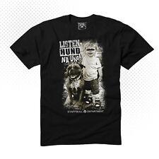 Staffordshire Bullterrier Staffbull Department Listenhund Shirt streetwear