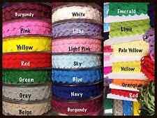 Ric Rac Braid Ribbon Trimming 6mm wide Many Colours-1m, 2m 5m 10m lengths