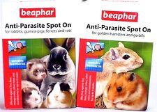 Beaphar Anti-Parasite Spot On Hamsters Gerbils Rabbits Guinea Pigs Rats Ferrets