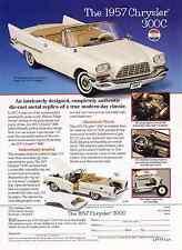 1957 CHRYSLER 300-C  ~  GREAT DIE-CAST CAR AD