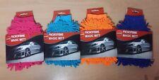 Microfiber Magic Mitt Assorted Colours Clean Surfaces Cars Polish Cheap!