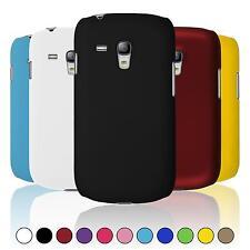Hardcase für Samsung Galaxy S3 Mini Hülle  gummiert + 2 Schutzfolien
