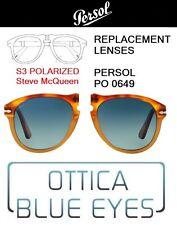 Lenti di Ricambio PERSOL PO0649 filtri Replacement Lenses S3 POLAR STEVE MCQUEEN