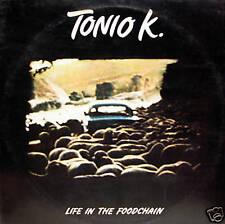 TONIO K. - life in the foodchain LP