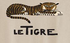 Tiger Le Tigre Ladies Sexy T-shirt André Hellé Illustration T-Shirt