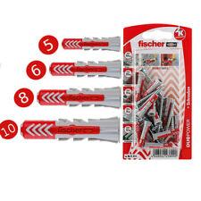 Fischer 5 6 8 10mm Nylon Dübel + Schrauben DUOPOWER Spreizdübel Hohlraumdübel
