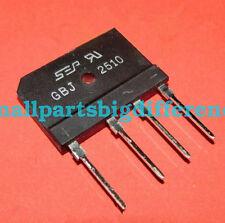20/50/100pcs GBJ2510 New Genuine ZIP-4 Bridge Rectifier Wholesale