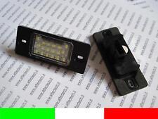LUCI LAMPADE TARGA LED NO ERRORE CANBUS VW TOUAREG G1E10