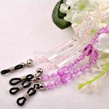 "Beaded Eyeglass Sunglass Neck Cords Chain Retainer Holder Eyewear Strap 31"""