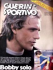 Guerin Sportivo 4 1983 poster di Di Bartolomei - Lamberto Mazza Udinese