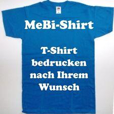 T-Shirt drucken mit Ihrem Wunschtext, Logo, Bild, Sprüche, Firmen.