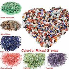 Natural Crystal Mixed Tumbled Chips Crushed Stone Healing Crystal Decoration