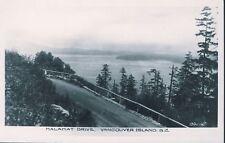 MALAHAT DRIVE VANCOUVER ISLAND BC RPPC Postcard c1930