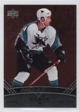 2006-07 Upper Deck Black Diamond Ruby 144 Jonathan Cheechoo San Jose Sharks Card