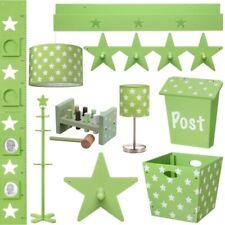 Niños Muebles Verde Star Accesorios Dormitorio infantil Estrella bebé claro